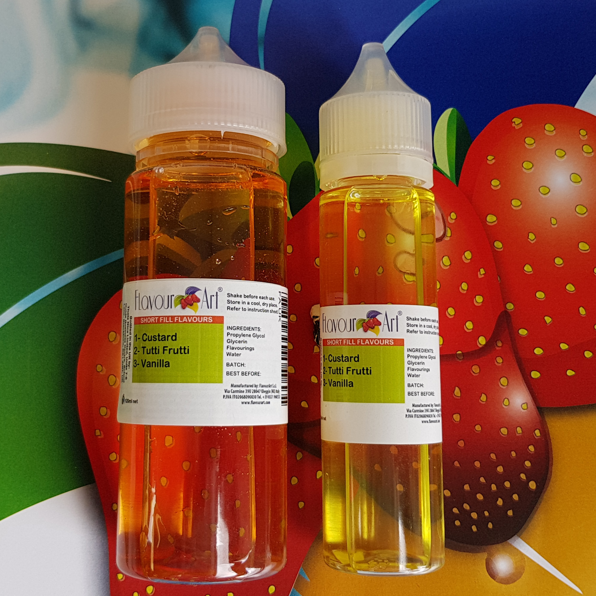 FA Short Fill E-liquid For You